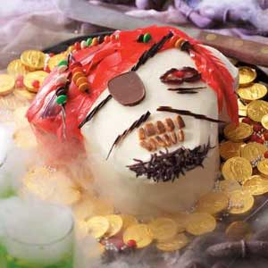 Ghostly Pirate Cake