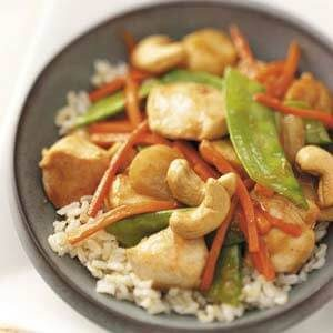 Cashew Chicken for Four