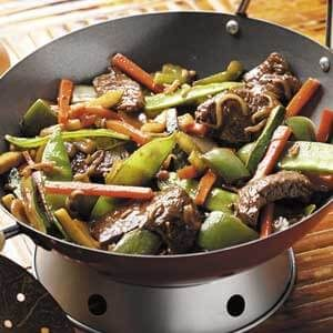 Colorful Beef Stir-Fry