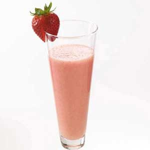 Fresh Strawberry Smoothies