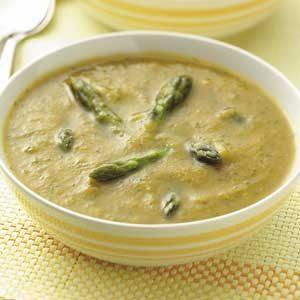 Golden Asparagus Soup