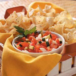 Zucchini Tomato Salsa