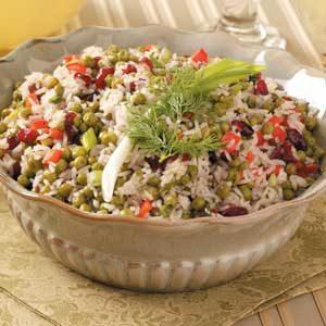 Festive Rice Salad