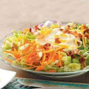 Mini Layered Salad