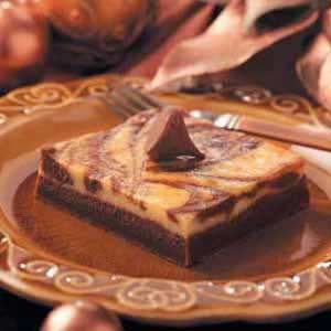 Chocolate-Marbled Cheesecake Dessert