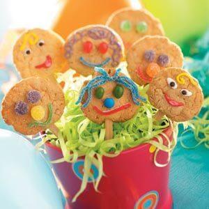 Homemade Lollipop Cookies