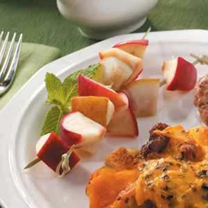 Apple 'n' Pear Kabobs