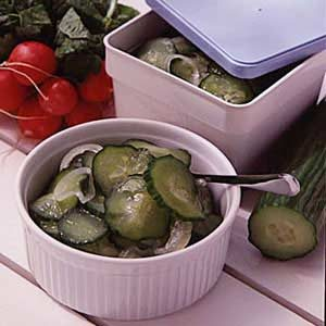 Frozen Cucumber Salad