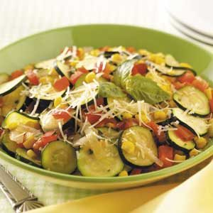 Fast Italian Vegetable Skillet