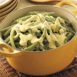 Green Beans in Lemon Chiffon Sauce