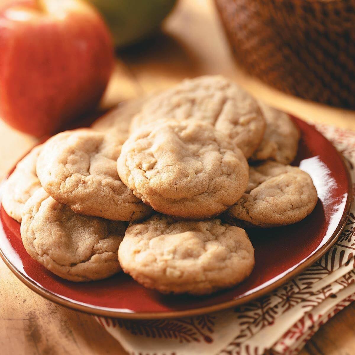 Apple Peanut Butter Cookies Recipe
