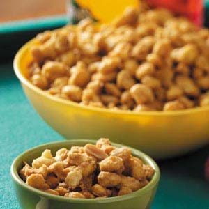 Caramel Cereal Snack Mix