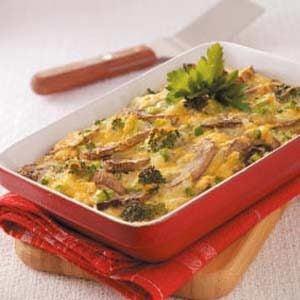 Cheesy Vegetable Frittata