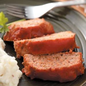 Sweet and Sour Turkey Meat Loaf