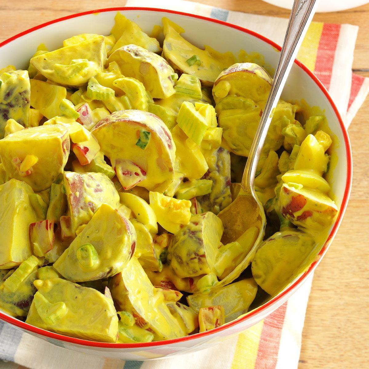 Honey Mustard Potato Salad Recipe Taste Of Home