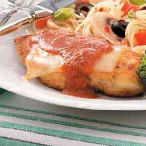 Cheesy Chicken Parmigiana