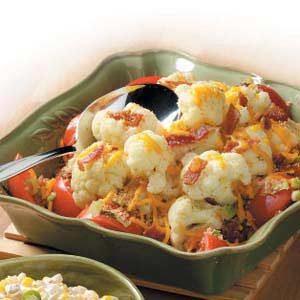 Cauliflower Tomato Medley