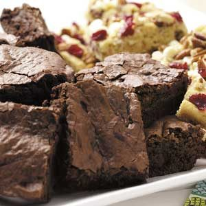 Lightened-Up Fudgy Brownies