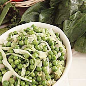 French Peas with Water Chestnuts