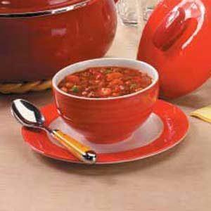 Vegetarian Bean and Vegetable Chili