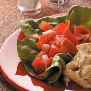 Tomato Pepperoni Salad