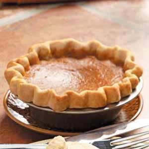 Tasty Maple Pumpkin Pie