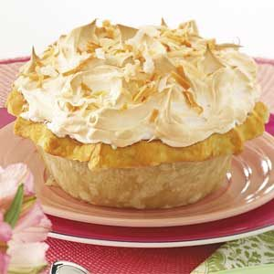 Coconut Meringue Pie