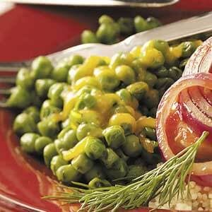 Cheese 'n' Dill Peas
