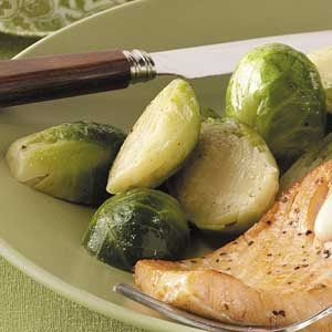 Nutmeg Brussels Sprouts