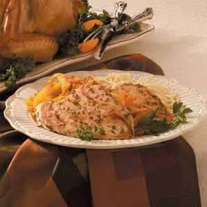 Thyme Chicken Marsala