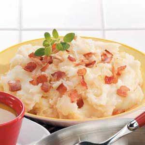 Sauerkraut Mashed Potatoes