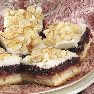 Ginger Cranberry Bars