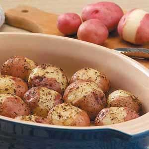 Seasoned Red Potatoes