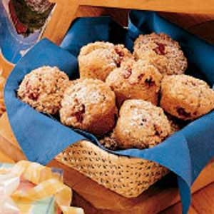Streusel Raspberry Muffins