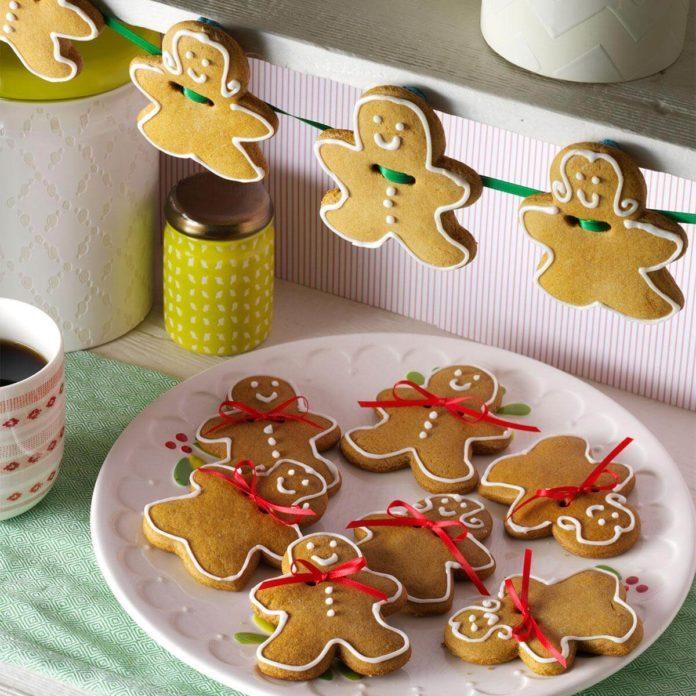Decorative Ginger Cookies