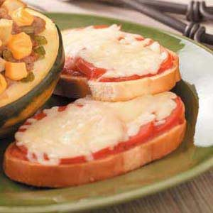Tomato Cheese Sandwiches