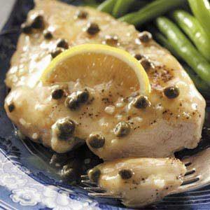 Chicken with Lemon-Caper Sauce