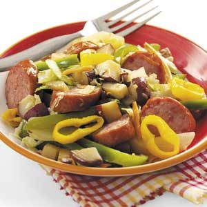 Smoked Sausage and Veggies