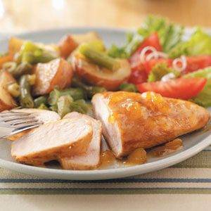 Apricot Honey Chicken