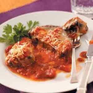 Portobellos Parmesano