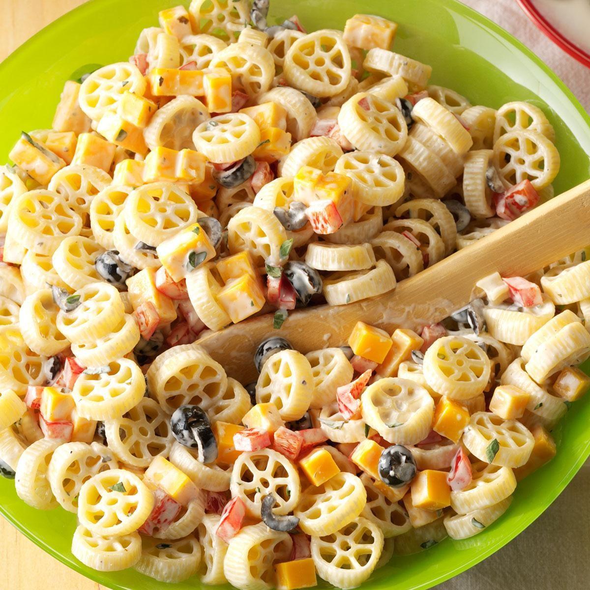 Wheely-Good Pasta Salad Recipe