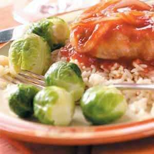 Buttery Brussels Sprouts