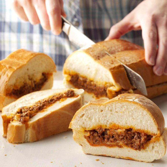 Stromboli Sandwiches