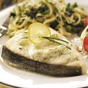 Baked Dill Halibut