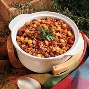 Hearty Bean Casserole