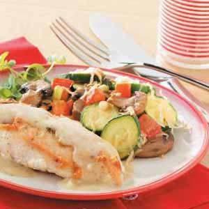 Parmesan Vegetable Saute