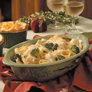 Broccoli Chicken Fettuccine