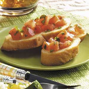 Refreshing Tomato Bruschetta