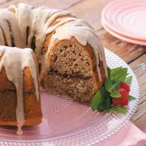 Pecan Sour Cream Cake