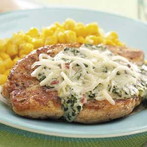 Chicken with Florentine Sauce
